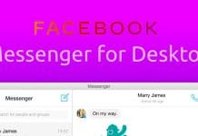 Facebook Messenger App Out Now for Desktop