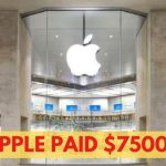 Here's Why Apple Paid $75,000 To The Hacker