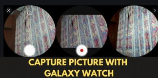 Samsung Galaxy S20 Users Can Now Capture Photos From Their Galaxy Watch