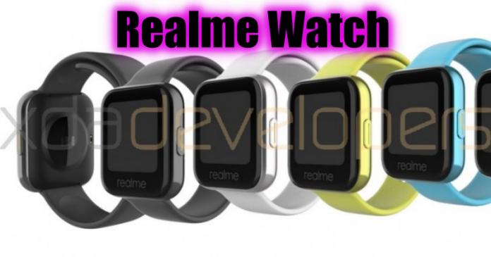 Realme Watch leaks: Photos, Specs revealed ahead of launch