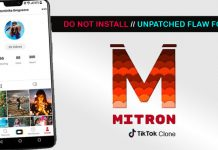 Mitron App Profile has Security Vulnerability that Put Users in Danger