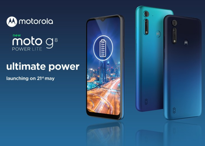 Moto G8 Power Lite Set To Launch On May 21 In India: Specs And More