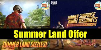 PUBG Mobile Summer Land Event Offers: Details Here!