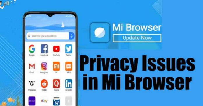 Xiaomi has been accused of collecting millions of people's browser data,