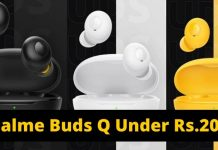 Realme Buds Q True Wireless Earbuds To Launch Under Rs.2000 (1)