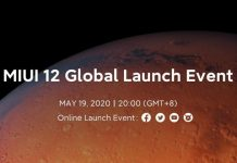 Xiaomi MIUI 12 Will Be Announced Globally On May 19