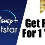 Get Disney+ Hotstar VIP Subscription Free For 1 Year