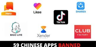 Government Bans 59 Chinese Apps TikTok, UC Browser, & Other Chinese Apps