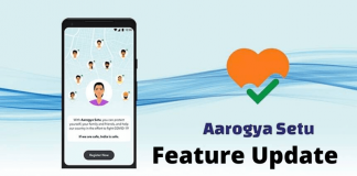 Contact Tracing App Aarogya Setu New Feature Update