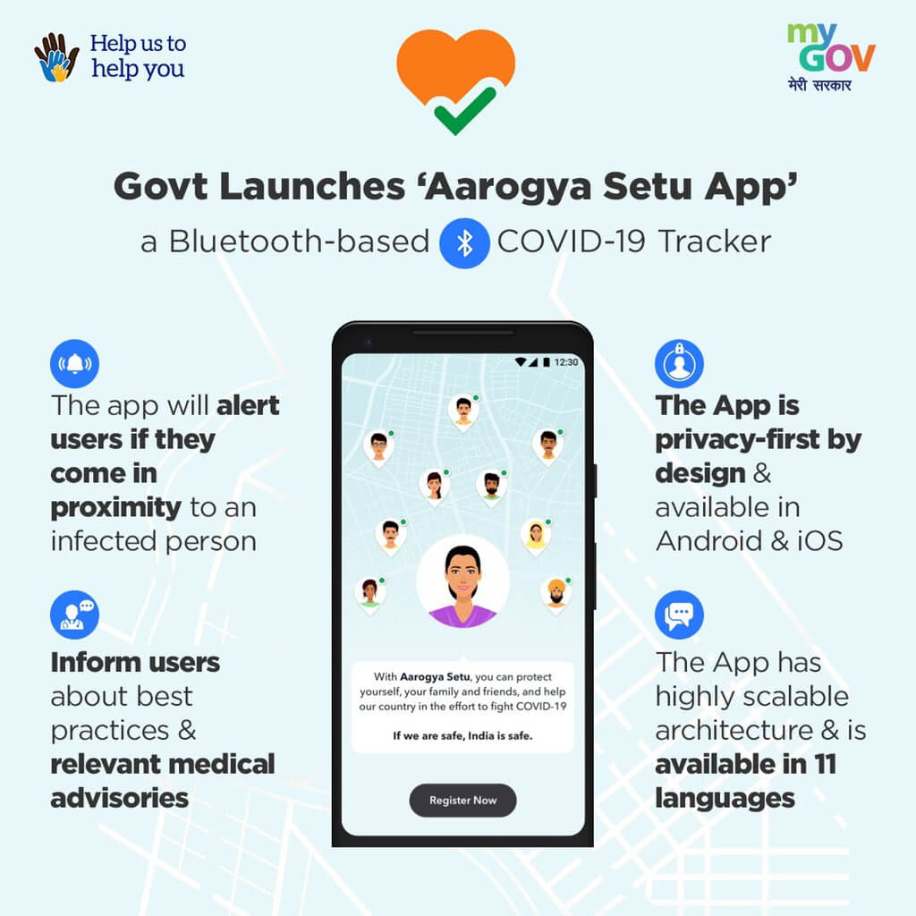 Contact Tracing App Aarogya Setu