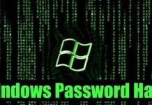 Hack Windows Passwords By Wallpaper via your wallpaper