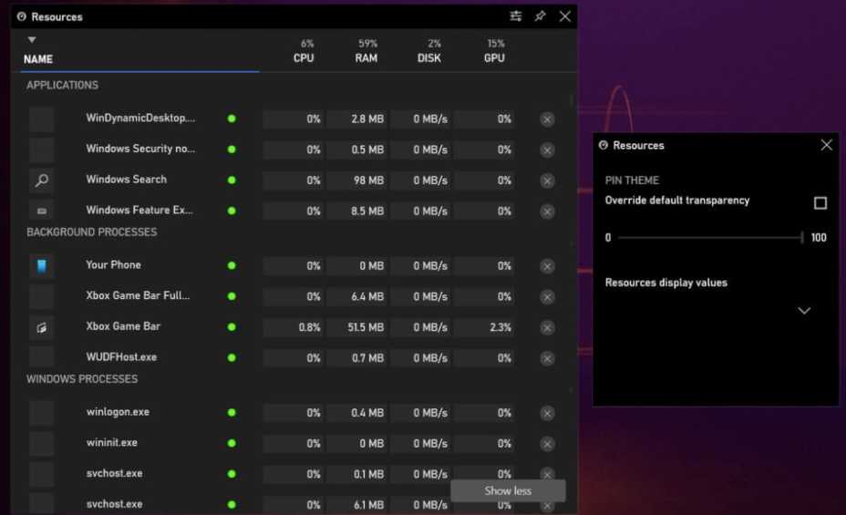 New Windows 10 Task Manager for Gamers is Rolling Out