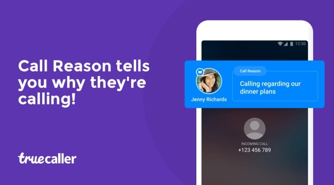 Call Reason feature in Truecaller