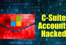 C-Suite accounts hackedd