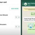 Whatsapp Add to Cart Feature Launched