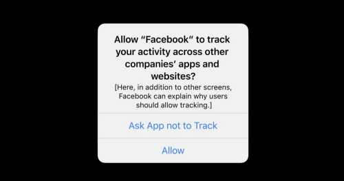 Facebook's Privacy Statements Against Apple