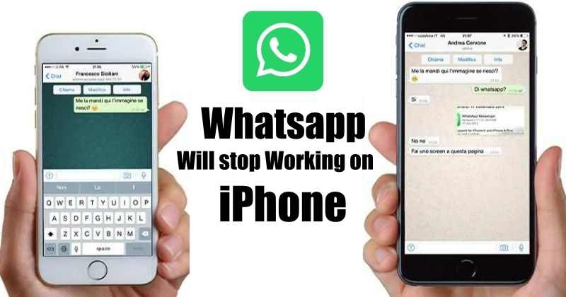 iPhone Running iOS 9 will not Support WhatsApp Anymore